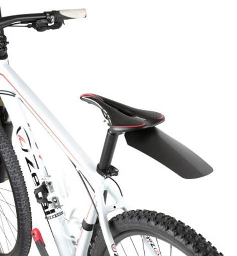 Rear Bike Mudguard Zefal Shield Lite XL Black//White