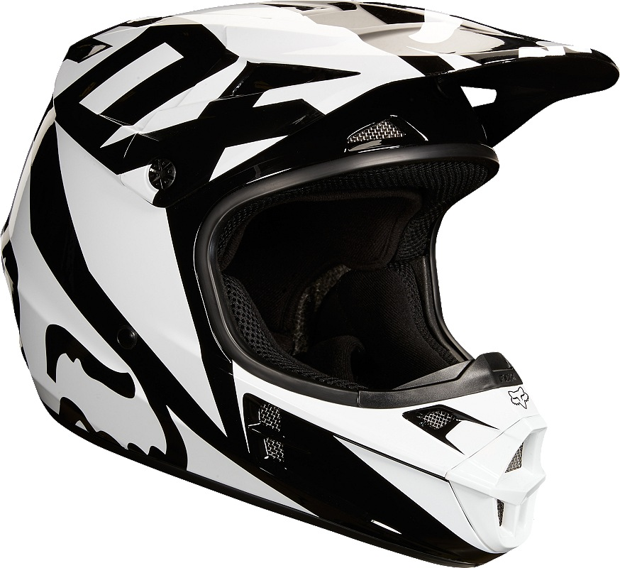 2550c1349bf Fox V1 Race MX18 Helmet