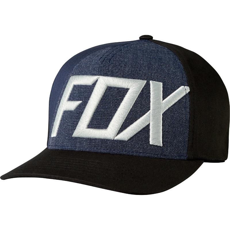 Fox Blocked Out Flexfit Hat (black) adc3062b0d