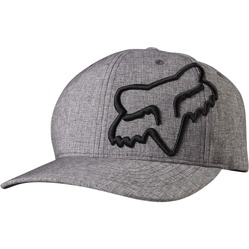 Fox Clouded Flexfit Hat (heather graphite) 8529b096ba