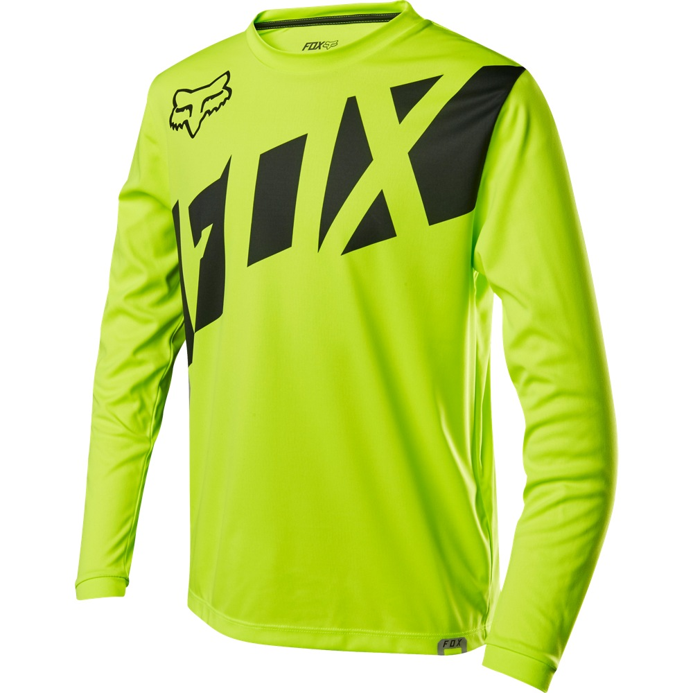 Fox Racing Womens Ripley Long Sleeve L//S Jersey Light Yellow