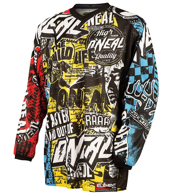 951b794b7 Oneal Youth Element Wild Jersey