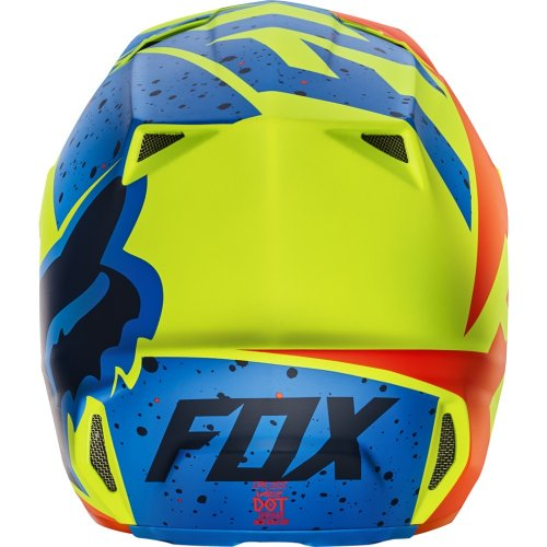 Fox Racing Nirv Visor Mens MX17 V2 Off-Road Motorcycle Helmet Accessories Grey//Yellow//One Size