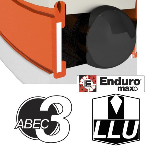 Enduro Bearings 608 LLU MAX