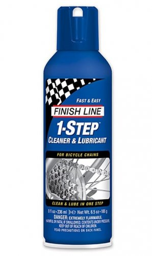 Finish Line 1-Step Cleaner & Lubricant Aerosol