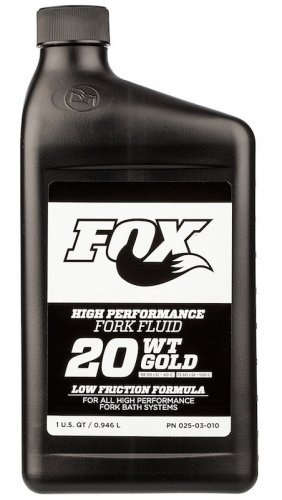 Fox Suspension Fluid 20WT Gold